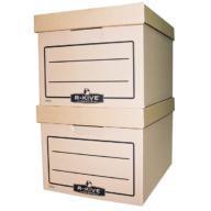 Короб для архивных боксов R-Kive Basics, коричн.