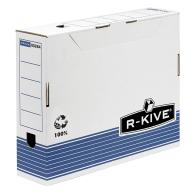 @$Бокс для архивации док. R-Kive Prima 80мм, синий