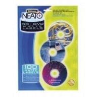 @/Матовые этикетки c вкладышами NEATO для CD/DVD дисков, 20 шт/компл.