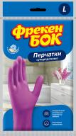 /Перчатки универсальные, латексные, суперпрочные, размер L, розовые, ФРЕКЕН БОК без НДС