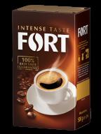 /Кофе молотый 500г*12, брикет, FORT