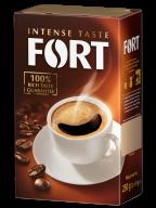/Кофе молотый 250г*12, брикет, FORT