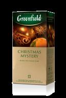"""/Чай черный 1.5г*25*10, пакет, """"Christmas Mystery"""", GREENFIELD"""