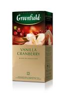 """/Чай черный 1.5г*25*10, пакет, """"Vanilla Cranberry"""", GREENFIELD"""
