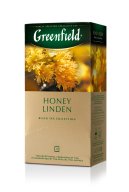 "/Чай черный 1.5г*25*10, пакет, ""Honey Linden"", GREENFIELD"