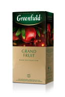 "/Чай черный 1.5г*25*10, пакет, ""Grand Fruit"", GREENFIELD"