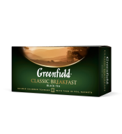 "/Чай черный 2г*25*15, пакет, ""Classic Breakfast"", GREENFIELD"