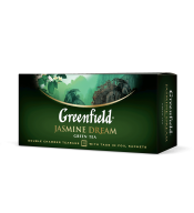 "/Чай зеленый 2г*25*15, пакет, ""Jasmin Dream"", GREENFIELD"