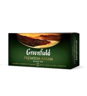 "/Чай черный 2г*25*15, пакет, ""Premium Assam"", GREENFIELD"