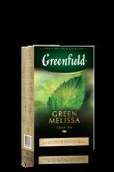 "/Чай зеленый 85г, лист, ""Green Melissa"", GREENFIELD"