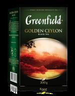 "/Чай чёрный 200г, лист, ""Golden Ceylon"", GREENFIELD"