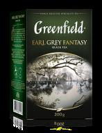 """/Чай чёрный 200г, лист, """" Earl Grey Fantasy"""", GREENFIELD"""