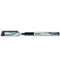 Маркер водостойкий 857, 0.7мм, тонкопишущий, черный