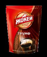 """/Кофе растворимый 130г, эконом. уп., """"Триумф"""", ЖОКЕЙ"""