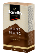 "/Кофе молотый 250 гр, вакуум, ""Mont Blanc"", JARDIN"