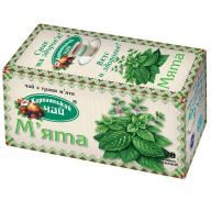 """/Чай травяной 1,35г*20*36, пакет """"Мята"""", КАРПАТСКИЙ ЧАЙ"""