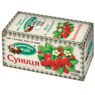 "/Чай фруктовый 2г*20*36, пакет ""Земляника"", КАРПАТСКИЙ ЧАЙ"