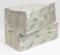 /Полотенца бумажные макулатурные V-образные , 23х25 см, 170 листов, серый КОХАВИНКА