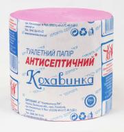 /Бумага туал. макул., без гильзы, антисептическая, розовый  КОХАВИНКА