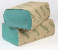 /Полотенца бумажные макулатурные Z-образные , 23х22 см, 200 листов, зеленый КОХАВИНКА