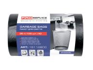/Пакеты для мусора, п/е, 50*55, 7 мкм, черные, HD, 35л/100шт (20шт/ящ)  PRO SERVICE