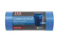 /Пакеты для мусора, п/е, 70*109, 21 мкм, синие, LD, 120л/20шт (15шт/ящ) PRO SERVICE