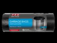 /Пакеты для мусора, п/е, 90*110, 24 мкм, черные, LD, 160л/10шт (20шт/ящ) PRO SERVICE