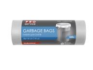 /Пакеты для мусора, п/е, 70*110, 32 мкм, белые, LD, 120л/10шт (15шт/ящ)  PRO SERVICE