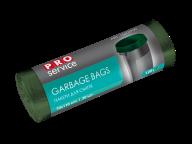 /Пакеты для мусора, ECO, п/е, 70*110, 21 мкм, зелёные, LD, 120л/20шт (15шт/ящ) PRO SERVICE