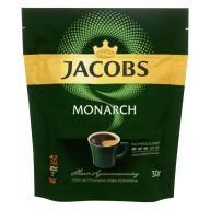 /Кофе растворимый 30 г, пакет, JACOBS MONARCH