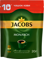 /Кофе растворимый 20 г,екон. пак, JACOBS MONARCH