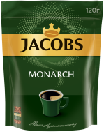 /Кофе растворимый 120г, пакет, JACOBS MONARCH