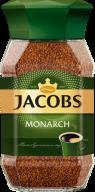 /Кофе растворимый 95 г, стекло, JACOBS MONARCH