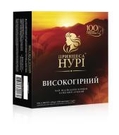 """/Чай чёрный 2г*100 пакет, """"Высокогорный"""", ПРИНЦЕССА НУРИ"""