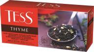 """/Чай черный 1.5г*25*24, пакет, """"Thyme"""", TESS"""