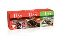 "/Набор пакетированого чая 30 пакетиков, ассорти ""Pleasure, Sunrise, Lime"", TESS"