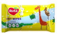 """/Салфетки влажные """"Ruta Selecta"""" Веселые зверушки 60 шт"""