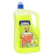 /Средство жидк. д/полов Universal MR. PROPER 5л Лимон