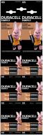 /Эл.питания (батарейка) DURACELL LR6 (AA), отрывной набор 12шт/упак (6*2шт)