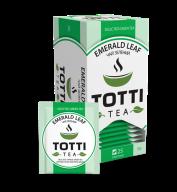 """/Чай зеленый 2г*25*32, пакетированный, """"Изумрудный лист"""", TOTTI Tea"""