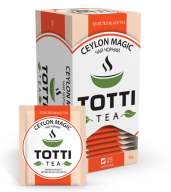 """/Чай черный 2г*25*32, пакетированный, """"Магия Цейлона"""", TOTTI Tea"""