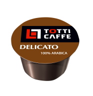 "/Кофе в капсулах 8г *100, ""Delicato"", TOTTI Caffe"