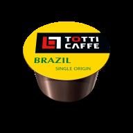 "/Кофе в капсулах 8г *100, ""Brazil "", TOTTI Caffe (PL)"