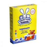 /Порошок стиральный для машинной и ручной стирки Ушастый нянь, 400 гр, детский